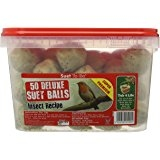 Suet to Go Insect Suet Ball Unnetted in Tub x 50