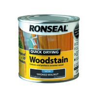 Quick Drying Woodstain 250ml Smoked Walnut