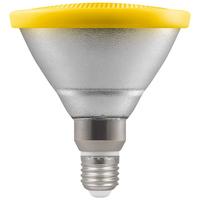 13W LED PAR38 ES Lamp Yellow