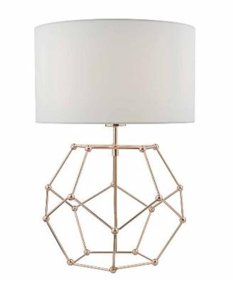 Coen Table Lamp, Copper wih White Cotton Shade | LV1802.0123