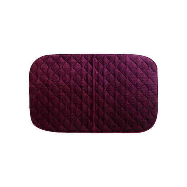 Velour Floor Pad Maroon 90x135cm