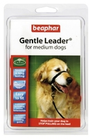 Beaphar Gentle Leader Head Collar Black Medium x 1