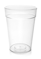 8Oz Tumbler Clear - Smooth