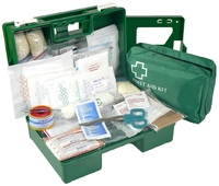 1-12 Industrial Wall Mount First Aid Kit