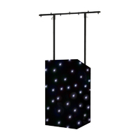 Equinox MICRON DJ Booth and LED Starcloth CW Package