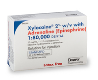 XYLOCAINE 2% 2.2ML STD x 50 - NI
