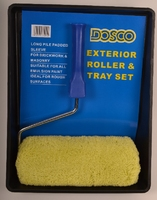 Dosco 9'' Exterior Roller and Tray Set