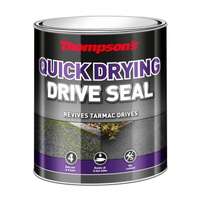 THOMPSONS QUICK DRYING DRIVE SEAL BLACK 10 LTR