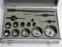 HOLE SAW SET IN CASE 16-76MM 14 PIECE