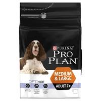 Pro Plan Dog Medium Large Adult 7+ (Senior) - Chicken & Rice 3kg