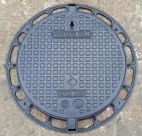 Cast Iron Heavy Duty Manhole Cover 600mm diameter D400