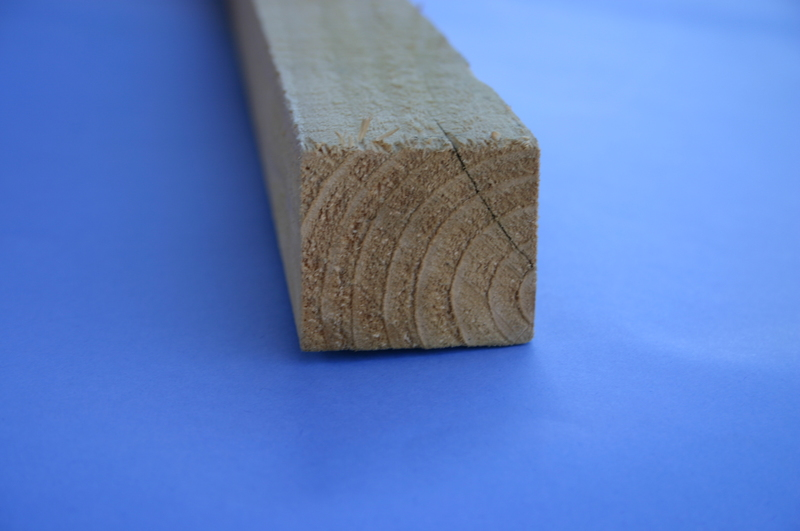 Treated Rough Sawn Timber 50mm x 44mm 4 8M (2x2
