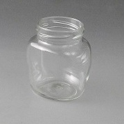 212ml Oval Glass Jar