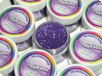 55037 R/DUST SPARKLE-JEWEL-LAVENDER - NON EDIBLE