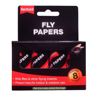 RENTOKIL 8 PCE FLY PAPERS