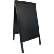 Sandwich Board A-Board Black 700mm Wide x 1200mm High