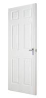 Indoors Carrick Moulded 6 Panel Smooth Door 78 X 30 X 44Mm