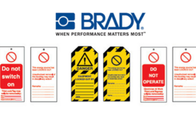 brady electrical safety tags