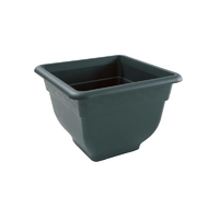 Bell Pot 38cm Square Planter Green