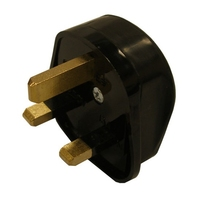 H0052 Rubber Plug Top Black