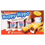 HAPPY HIPPO Choc MULTIPACK 5pk x10