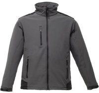 Castle TuffStuff 255 Hertford black and red hooded soft-shell jacket size S-2XL