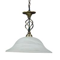 Beckworth Antique Brass Ceiling Light Ф400