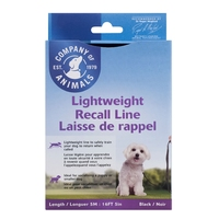 Company of Animals Lightweight Recall Line 5 metre / 16' x 1