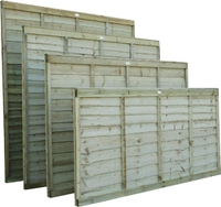 Lap Panel Pressure Treated 1.83m(W) x 1.8m(H)