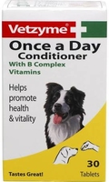 Vetzyme Once-A-Day Dog Condition Tablets x 1