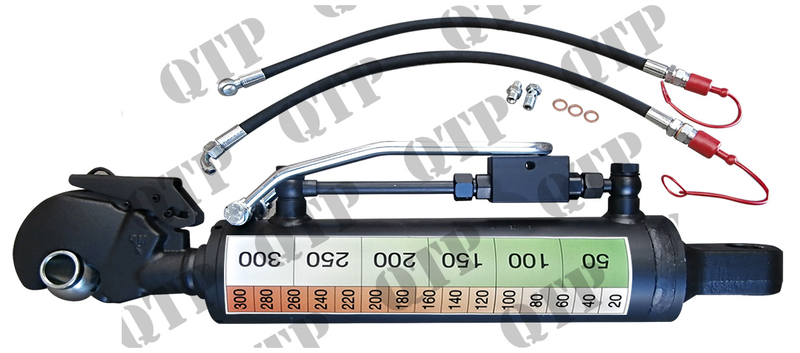 Cat 1 Top Link : Hydraulic top link hook knuckle cat min length mm max