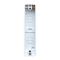MK K2152WHI Logic Plus Box 2G Architrave Moulded WHI