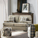Tides Fabric 2 Seater Sofa Styled