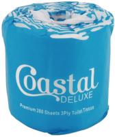 Coastal Deluxe 3ply Toilet Roll 280 Sheet Ctn 48