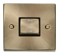 Deco Antique Brass 10A 1G 3P Switch