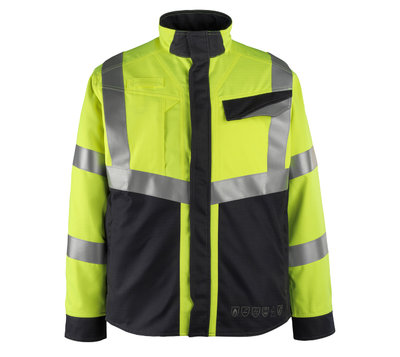 MASCOT Biel FR AST Acid Resistant Hi-Vis Jacket