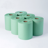 2Ply Green Agricultural Rolls