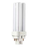 PHILIPS  PLC 10W/84 4 TUBE 4 PIN 600LM