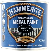 5084863 HM METAL PAINT SMOOTH BLACK 250ML