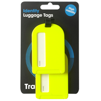 Korbond Travel Identity Luggage Tags 2 pack
