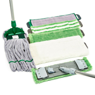 Microfibre Mops - Flat and Kentucky