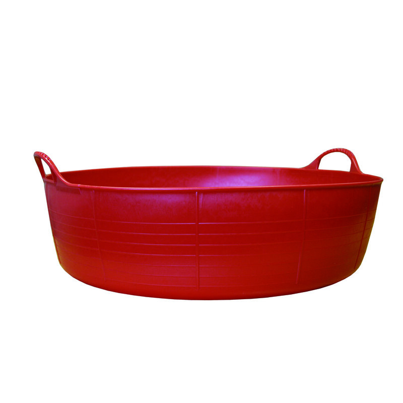 Red Gorilla Tub Red Small Shallow 15L