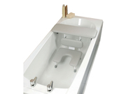 Bath board and seat combined