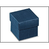 BOX & LID 50x50x50mm BLUE S/R disc.
