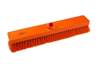 B896 FLAT SWEEP BROOM ORANGE