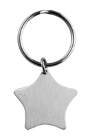 70mm Star Keyring