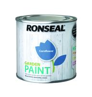 Ronseal Garden Paint 250ml - Cornflower