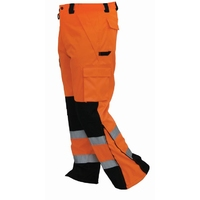 Bison Extreme Hi Vis Knit Night Overtrouser
