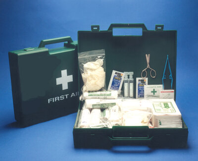 First Aid Kit Plus: X-Large (26-50 Persons)