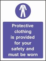 Mandatory and Protective Clothing Sign MAND0006-0911